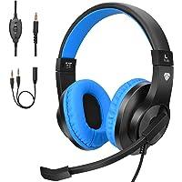 BlueFire Cascos Gaming PS4 con Microfono,Auriculares de Diadema con Sonido Envolvente y Cancelacion Ruido Headset para…