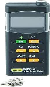 General Tools DBTU1300 Digital Solar BTU Power Meter