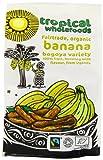 Tropical Wholefoods Sun Dried Banana - Bogoya Variety - 125g