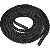 9m Battle Power Rope 38/50mm Battling Sport Bootcamp Gym Exercise Fitness Training