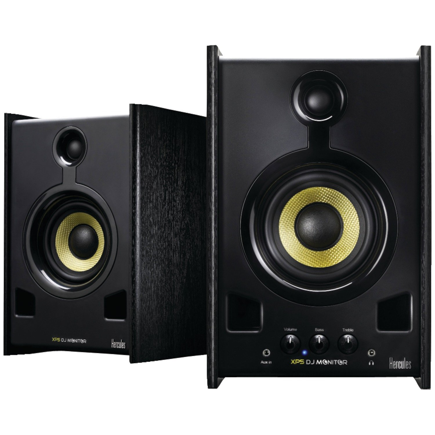 Hercules DJ XPS 2.0 80 DJ Monitor Speakers (Black)