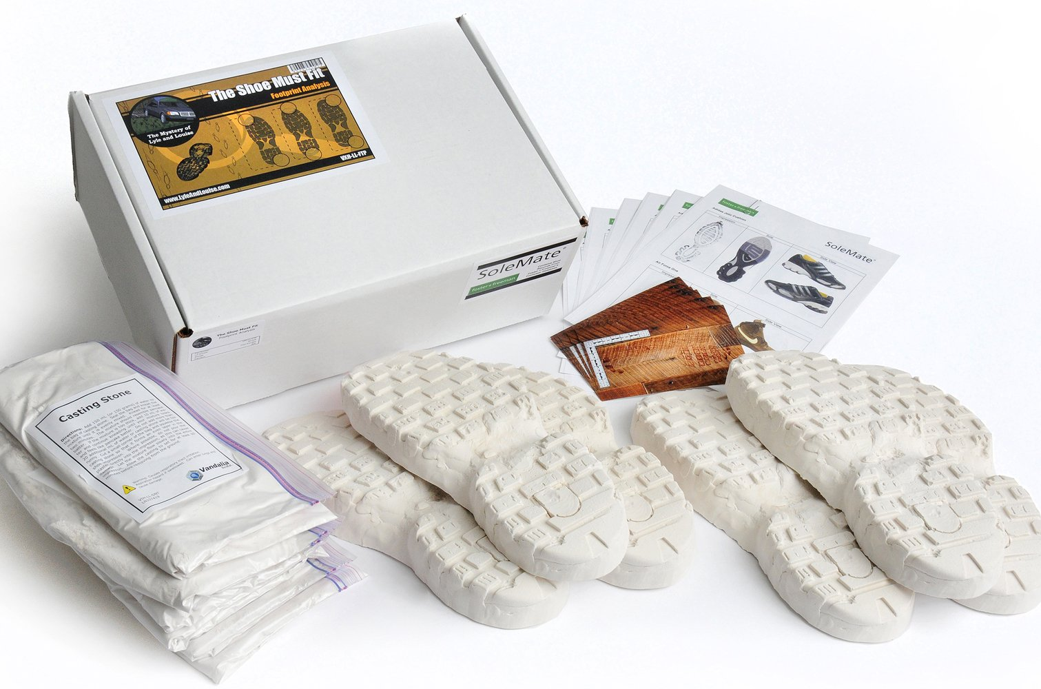 Crosscutting Concepts VXH-LL-FTP Lyle and Louise The Shoe Must Fit Footprint Analysis Kit