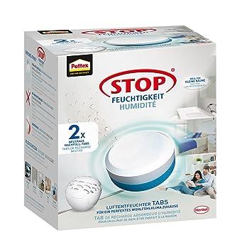 Pattex Stop Feuchtigkeit Pearl Luftentfeuchter Nachfüllpack/Gegen  Feuchtigkeit Und Schlechte Gerüche/Geruchsneutralisierung Bis Zu