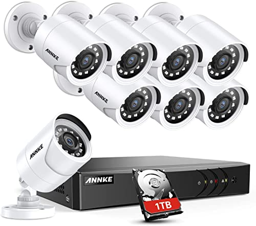 ANNKE 8CH Security Surveillance System