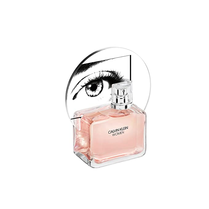Calvin Klein 65100045000000 Mujeres 100 ml - Eau de parfum (Mujeres, 100 ml, eucalyptus acorns, Naranja, orange flower, Madera de cedro)