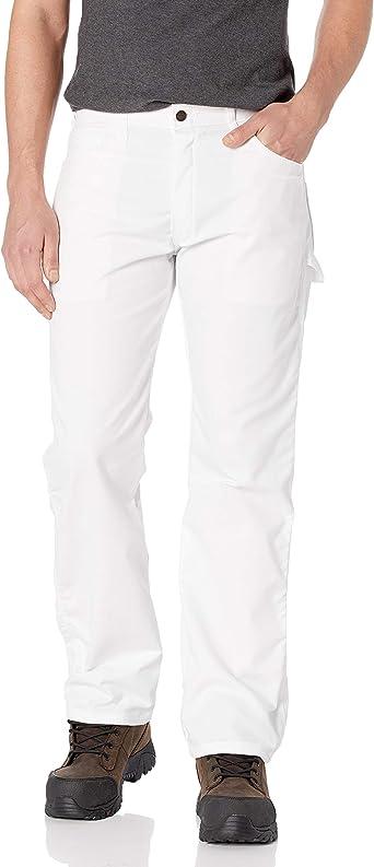 Amazon Com Dickies Pantalon De Pintor Flexible Relajado Para Hombre Clothing