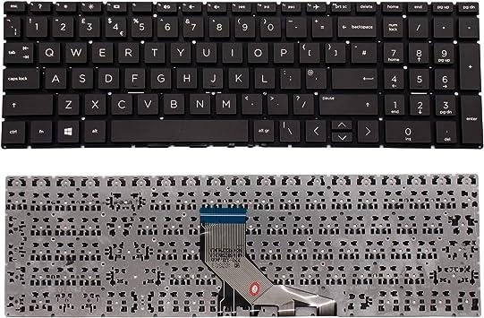 piece detachee touche clavier ordinateur hp laptop