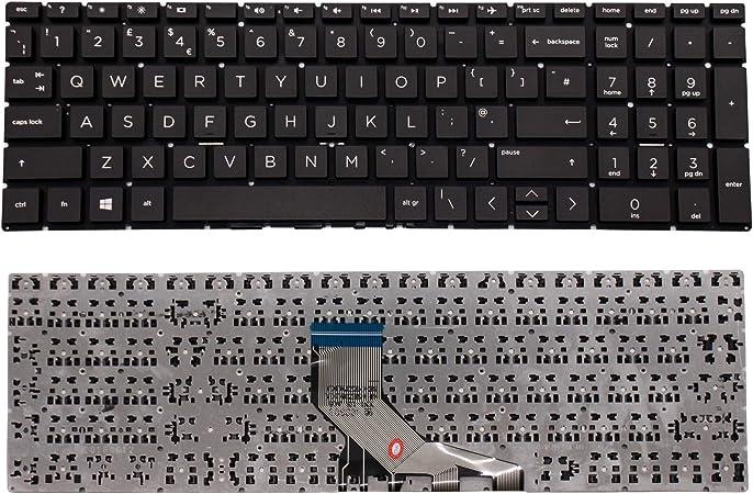 Wikiparts - Teclado de Repuesto para HP 15-DA / 15-DB ...