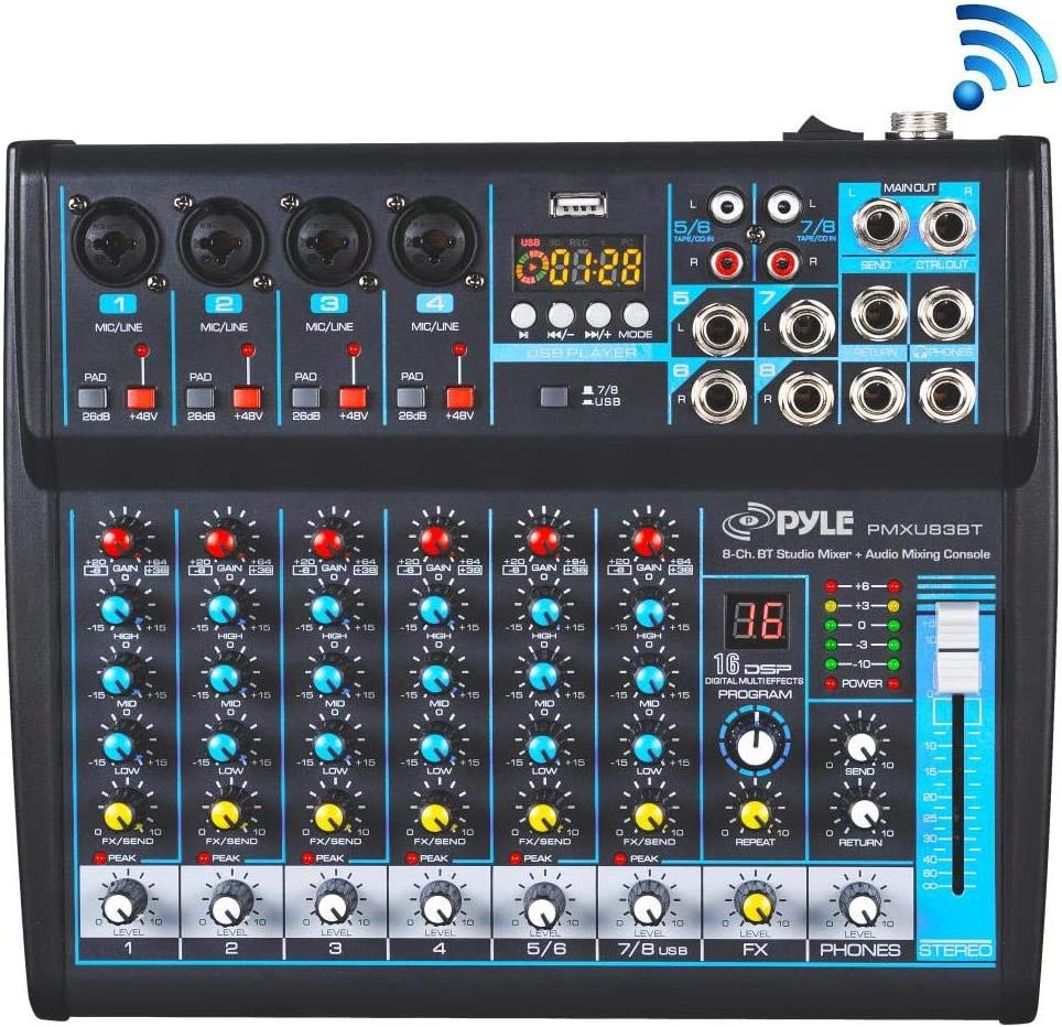 Professional Audio Mixer