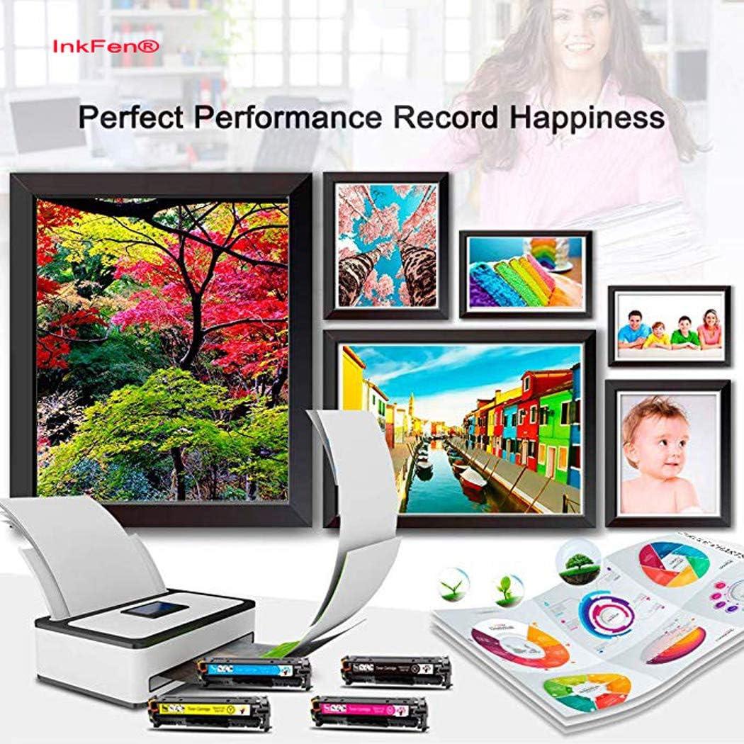 InkFenCompatible with KYOCERA TK-5244 Toner Cartridge for KYOCERA ECOSYS P5026CDW P5026CDN M5526CDN M5526CDW Color Digital Copier Cartridge,4 Colors