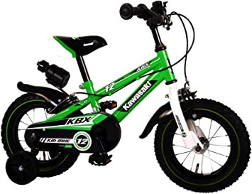 Kawasaki Bicicleta Infantil Niño Chico 12 Pulgadas Frenos al ...