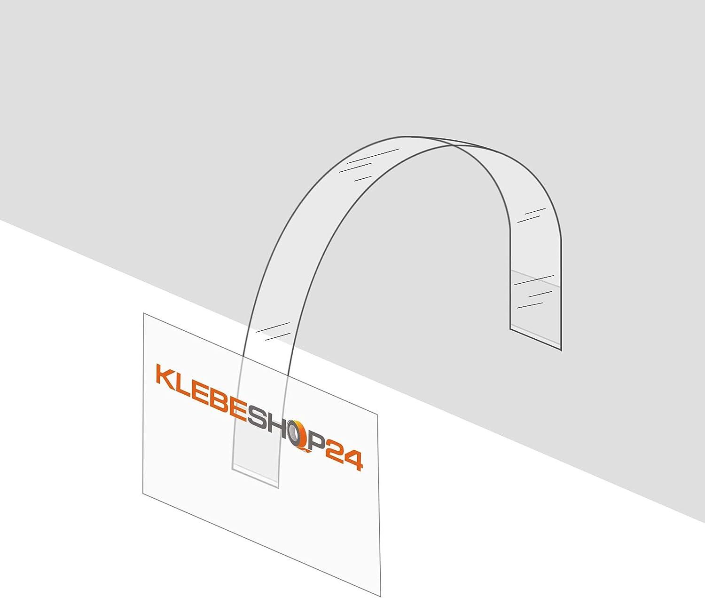instructions daction Panneaux 15/mm x 150/mm/ /Étag/ère Wobbler rectangulaire /Quantit/é au choix Adh/ésif puissant// wipper pour Transparent la Publicit/é etc
