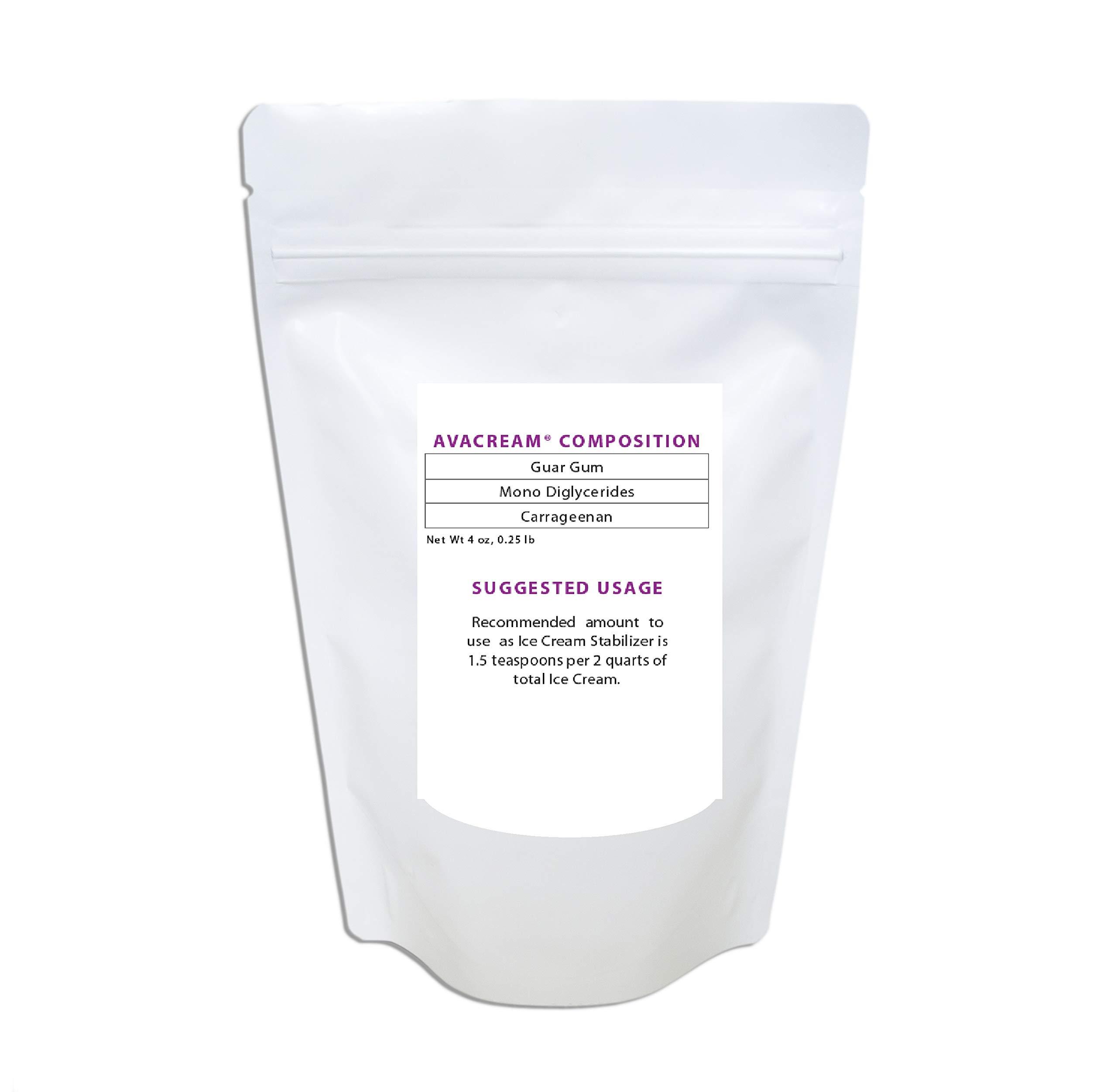 Avacream Ice Cream Stabilizer Mix (4 oz) by Avacream (Image #1)