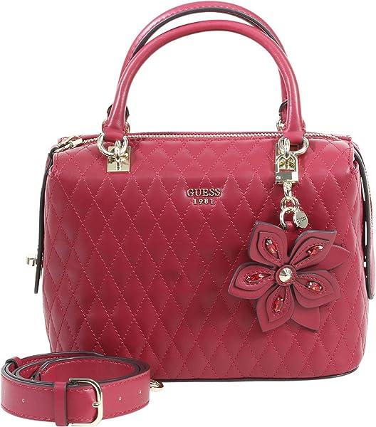 470c700962 Guess Women s Sibyl Metallic Lipstick Box Satchel Handbag  Handbags ...