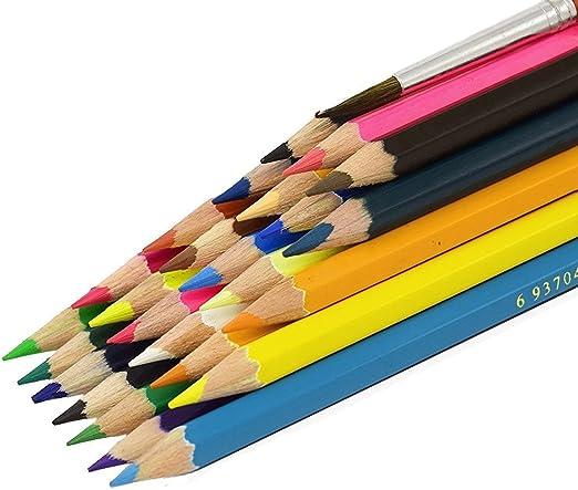 Geekbuzz 12/24 lápices de colores para colorear Bolígrafos con ...