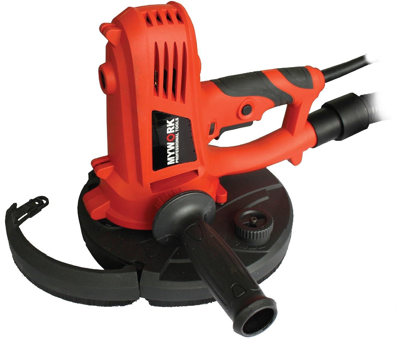 MyWork Professional Tools Trockenbau-/ Decken-/ Wandschleifer mit Absaugung, 22522MW