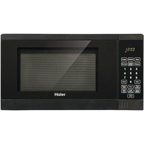 haier hmc720bebb 7 cubic feet 700watt microwave black