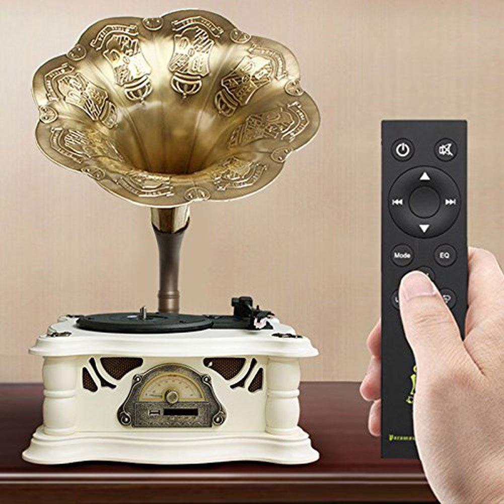 MUSIC Reproductor de Discos de Vinilo, Power UK- Tocadiscos de ...