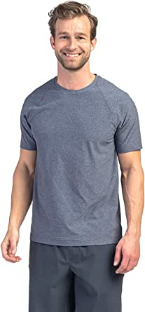 Rhone Reign Short Sleeve Premium Workout Shirt for Men with Anti-Odor, Moisture Wicking Technology