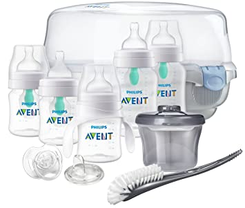 617220afe9d Amazon.com   Philips Avent Anti-Colic Baby Bottle with AirFree Vent Gift Set  Essentials