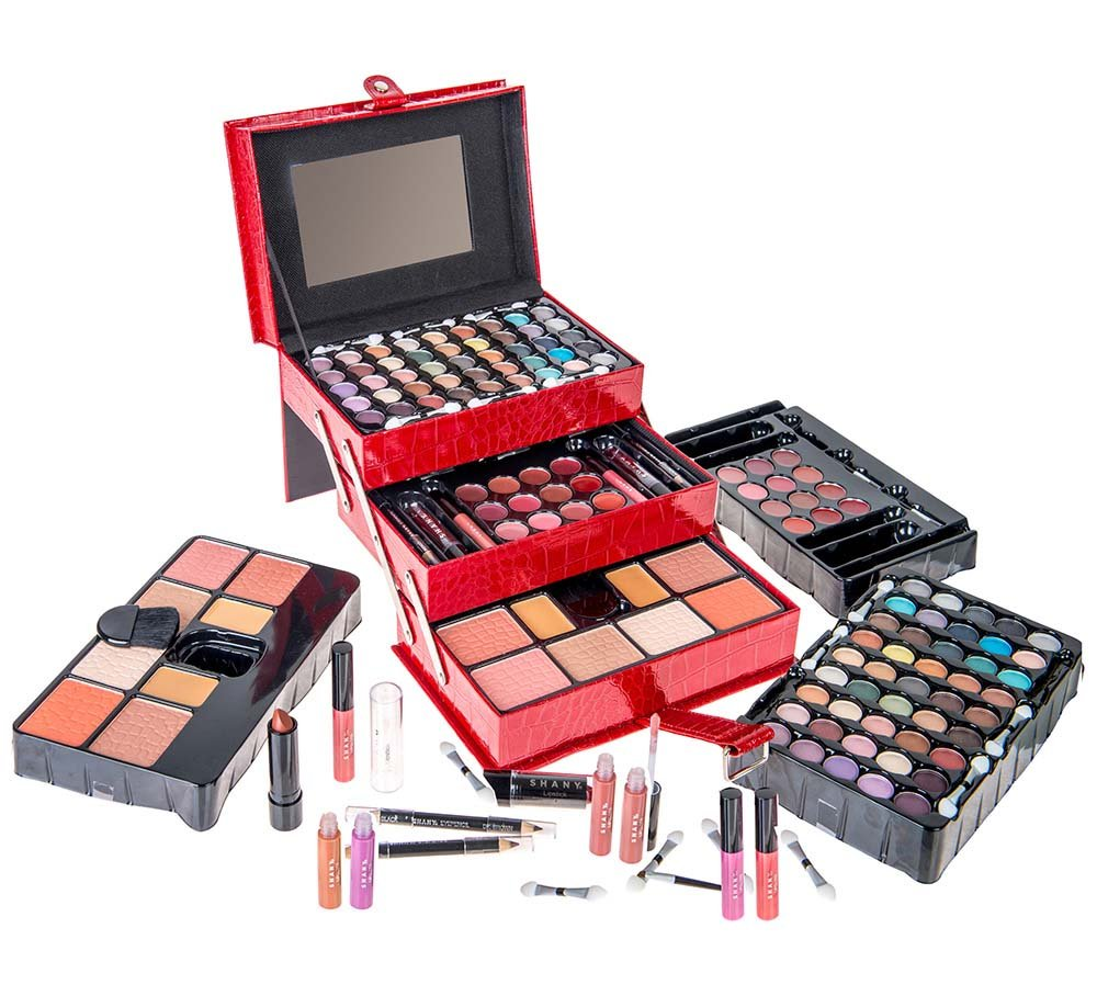 SHANY All In One Makeup Kit (Eyeshadow, Blushes, Powder, Lipstick & More) Holiday Exclusive by SHANY Cosmetics (Image #1)