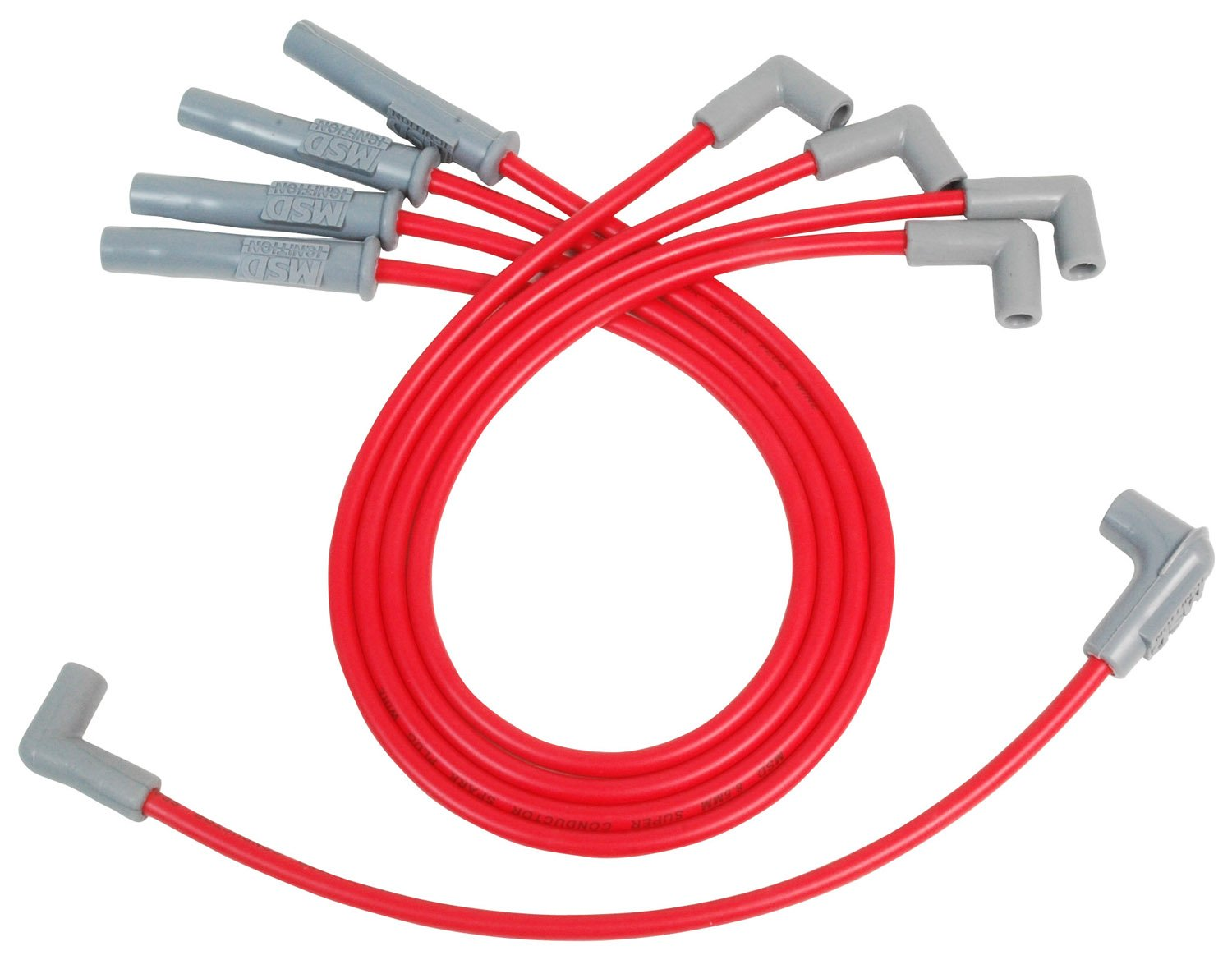 MSD 32079 8.5mm Super Conductor Spark Plug Wire Set for LS1/LS6 Engine by MSD