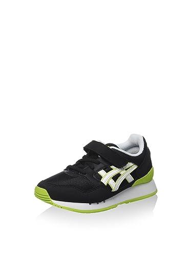 Asics Unisex-Kinder Pre-Atlanis PS Sneaker Schwarz/Weiszlig; 31.5 EU