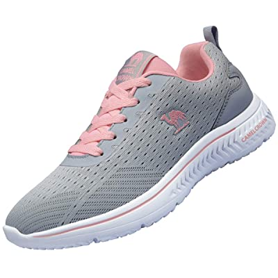 CAMEL CROWN Women Sport Running Shoes Comfortable Fashion Sneakers Breathable Mesh Tennis Shoes | Walking