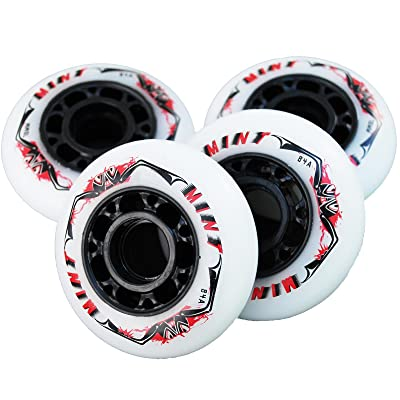 8 St. Mint Inline Speed Race Wheels - 70mm 84 A - High Rebound!