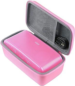 co2CREA Duro Viajar Fundas Caso Cubierta Estuche para DOSS SoundBox Plus Altavoz Bluetooth Portátil (Rosa): Amazon.es: Electrónica
