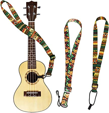 Verstellbarer Schultergurt Für Gitarren Bass Mit Schönem Muster