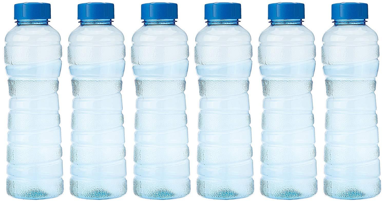 Fridge Bottle, 975 ml, Blue, Set of 6