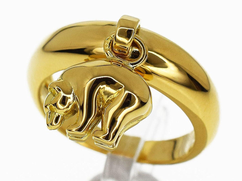 (ヴァンクリーフ&アーペル) Van Cleef&Arpels チャーム ゴールド リング 750 K18 YG イエローゴールド 約12号 #6.5 30030121 B07BKVV5WK
