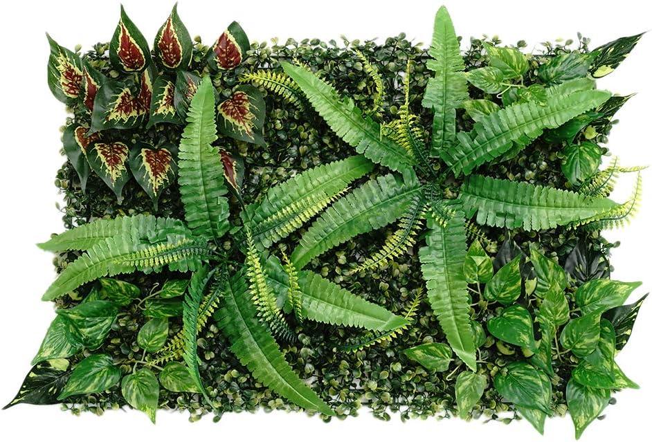 cadre végétal artificiel vert