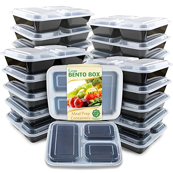 Review Enther Meal Prep Containers