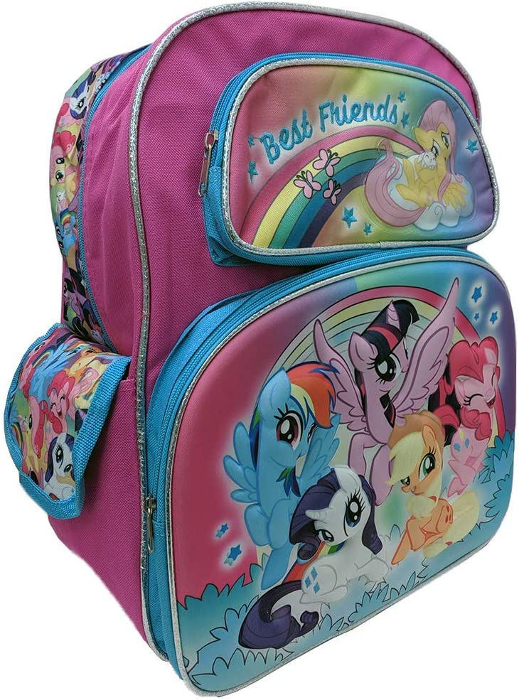 """My Little Pony Best Friends""""16"""" Backpack"""
