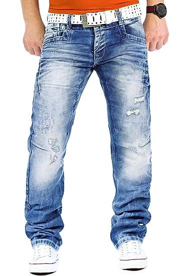 Cipo & Baxx Jeans Mens Pants Streetwear Clubwear Design Style Top