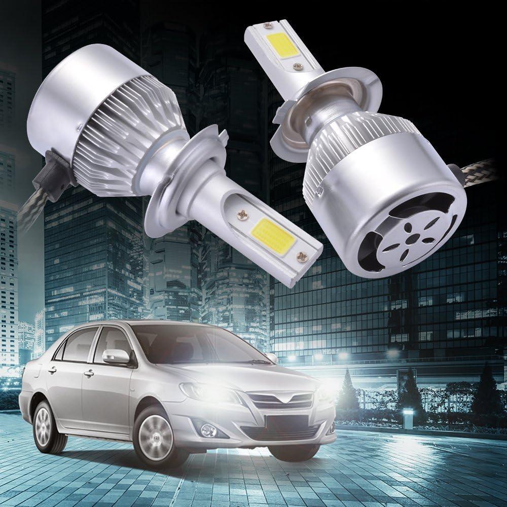 20000LM 130W Phares pour 12V Voiture 6500K X/énon Blanc Ampoule H1 LED