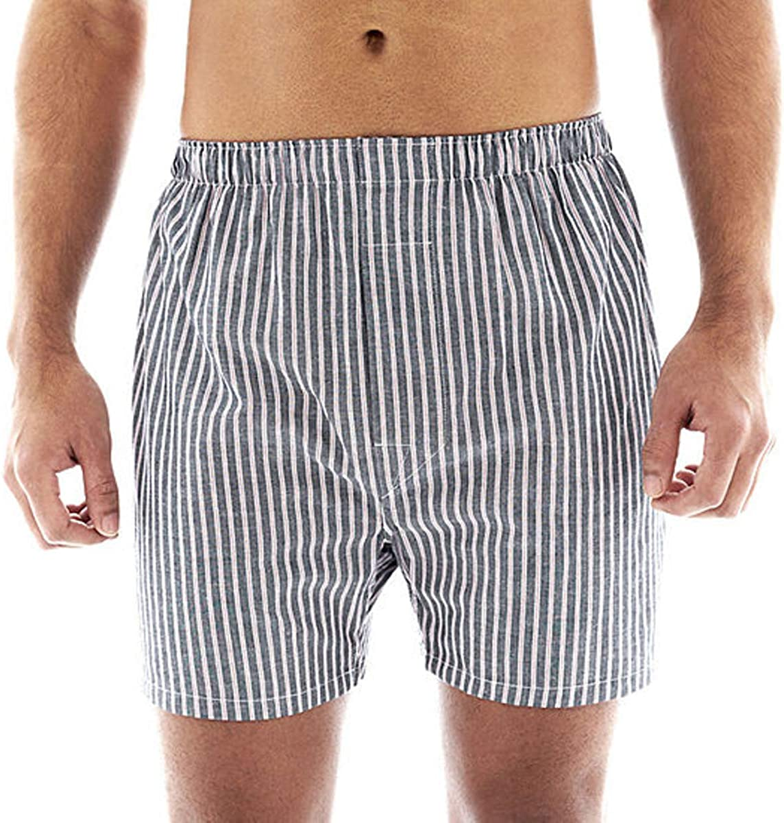 Stafford Max 43% OFF 4 Pack Direct sale of manufacturer Woven Boxers Cotton