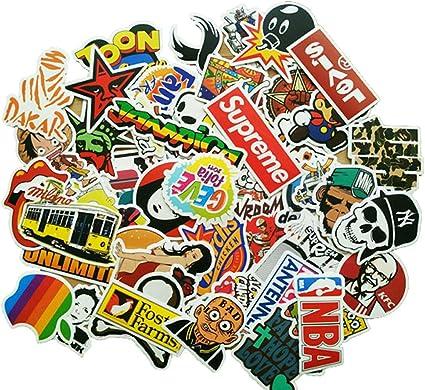 Eposeedor 50 Pegatinas Coche, Graffiti Stickers en Vinilo Coche ...