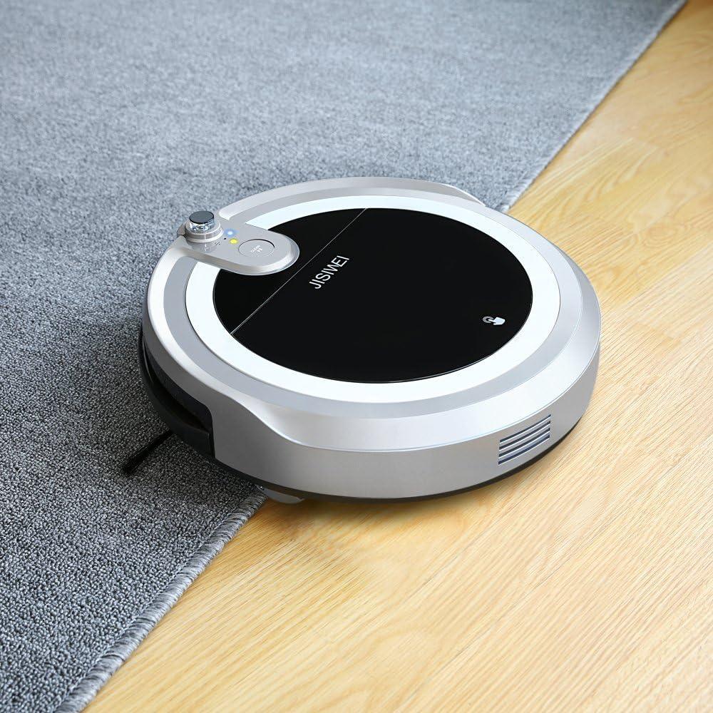 JISIWEI I3 Wi-Fi Robot Aspirador Limpiador de Pisos que Auto ...