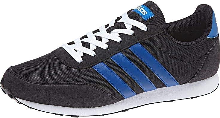 adidas V Racer 2.0, Zapatillas de Running para Hombre, Negro (Cblack/Croyal/Ftwwht 000), 36 2/3 EU: Amazon.es: Zapatos y complementos