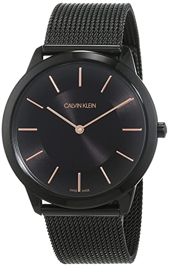 Calvin Klein Reloj Analogico para Hombre de Cuarzo con Correa en Acero Inoxidable K3M21421