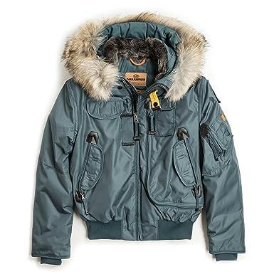 061863d37 Parajumpers Boys Gobi Bomber Jacket - Teal - 14 Years  Amazon.co.uk ...