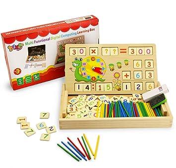 Bblike Material Montessori Montessori Matematicas Juguete De Madera