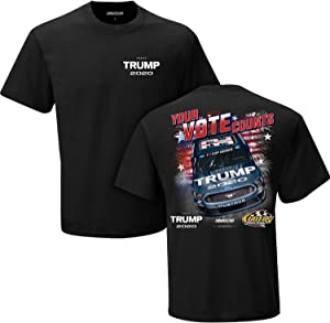 Checkered Flag Sports NASCAR Trump 2020 Your Vote Counts #32 NASCAR Racing T-Shirt