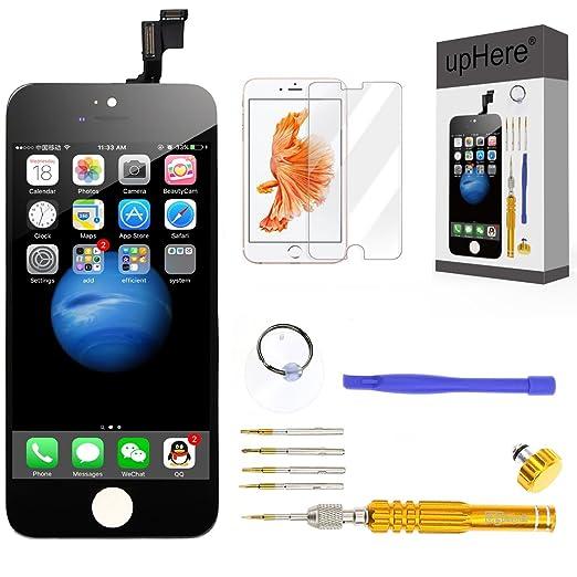 150 opinioni per upHere Per iPhone 6 NERO Touch Screen Vetro Schermo + LCD Display Assemblato