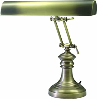 product image for House of Troy P14-204-AB 16-Inch Portable Desk/Piano Lamp Antique Brass