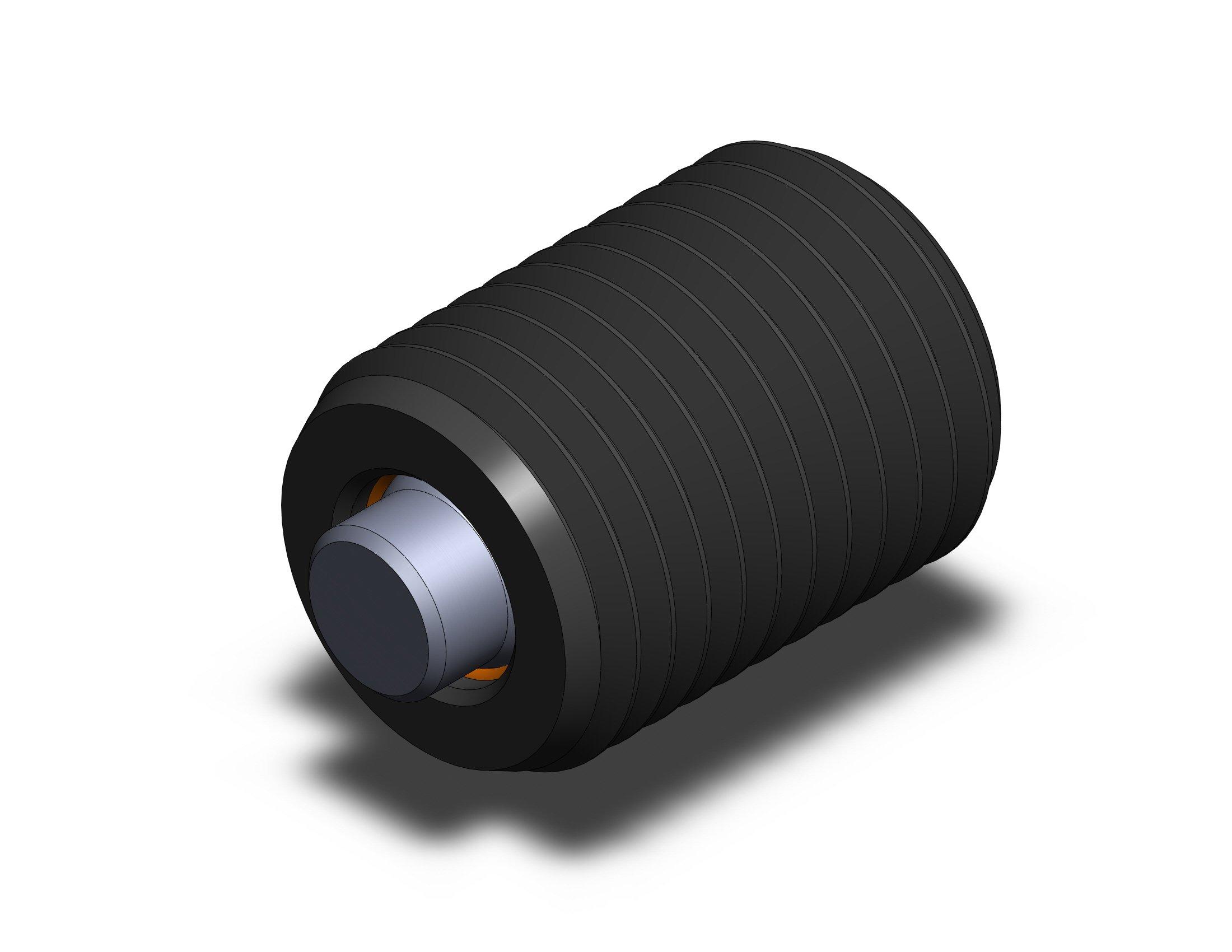Fairlane TBU-1108X2-D Threaded Design Swivot – 1-8 X 2 – Delrin