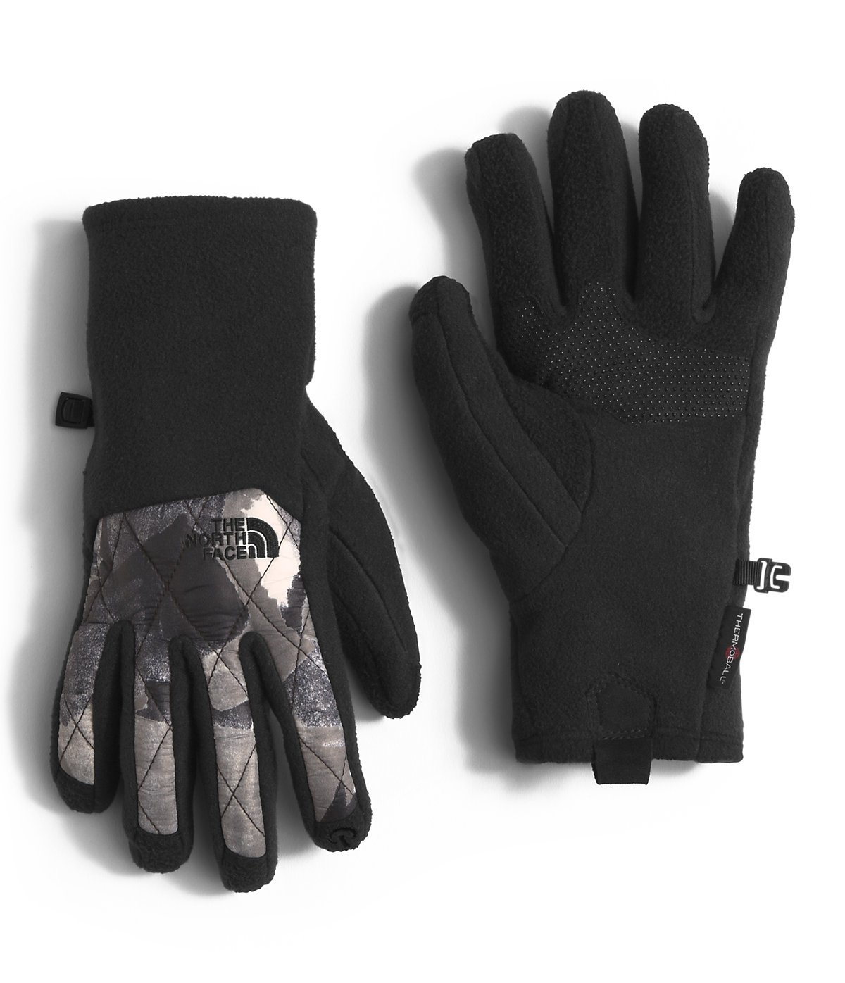 23577a463 The North Face Thermoball Etip Glove Women's TNF Black Swashed Print Medium
